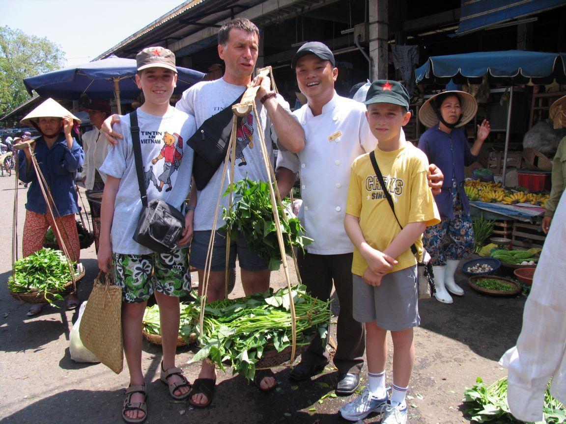 An interesting market tour