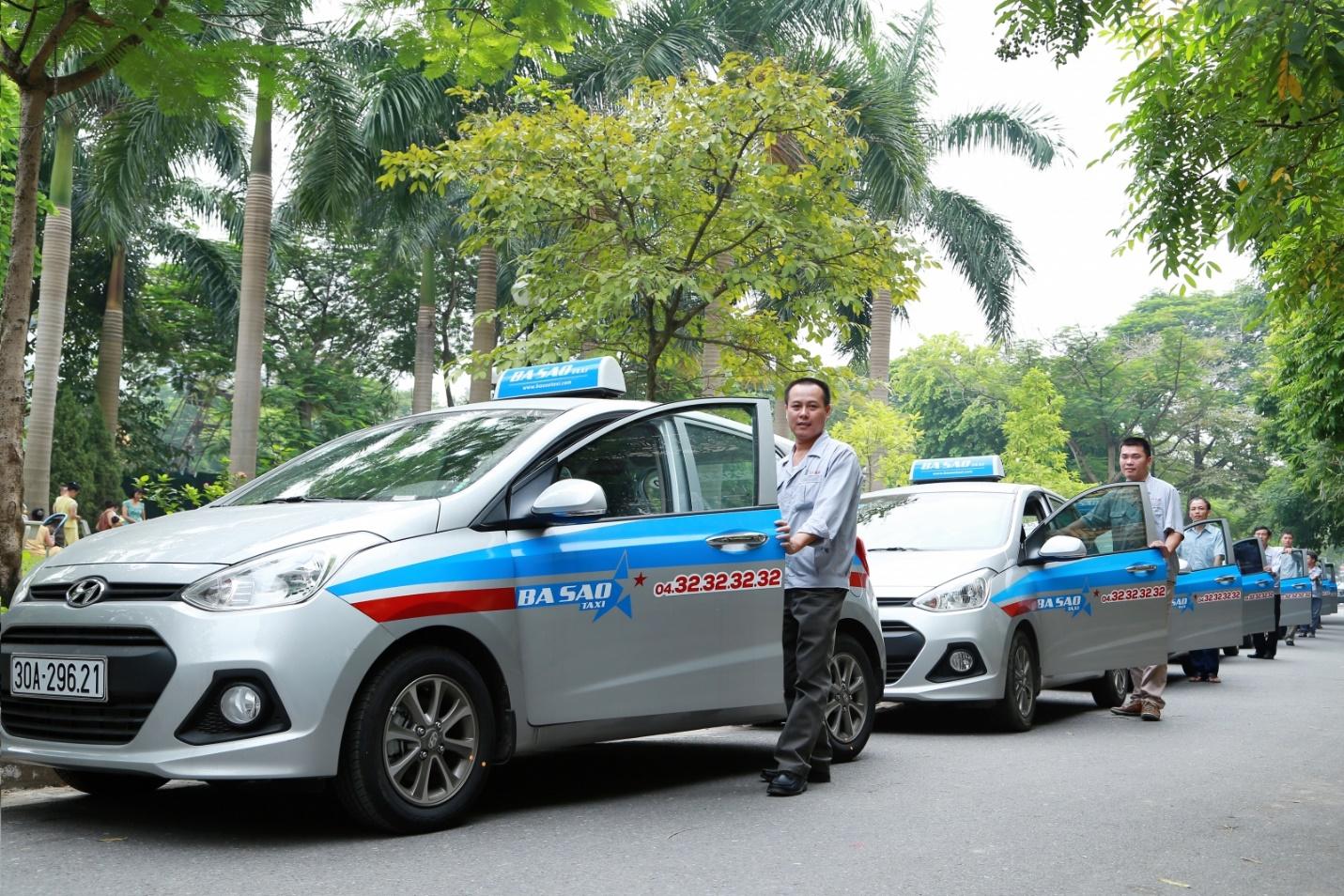 Ba Sao taxi in Hanoi