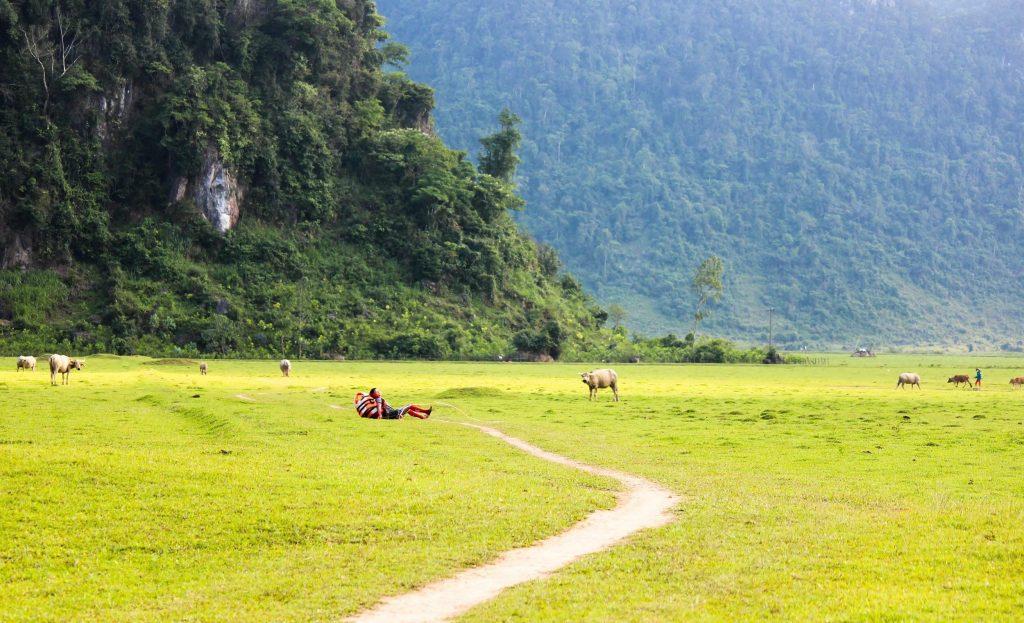 Weather Quang Binh in dry season