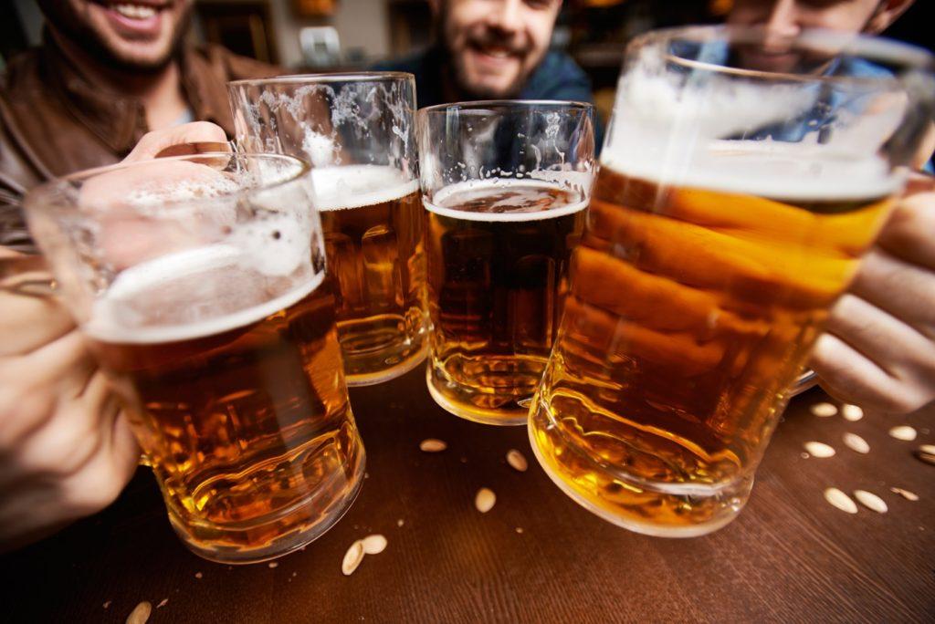 Enjoy cool beer