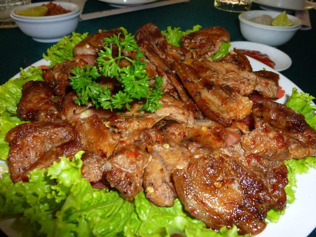 Delicious dish in Sapa