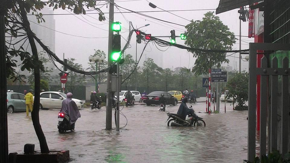 Heavy rain in July
