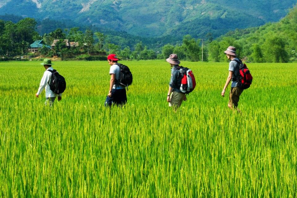A trekking tour in Mai Chau