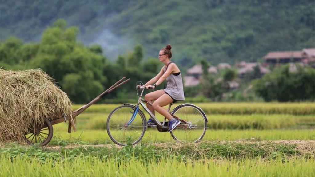 Explore the beauty of Mai Chau on a cycling tour